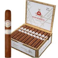 Montecristo White Churchill Cigars - Natural Box of 27