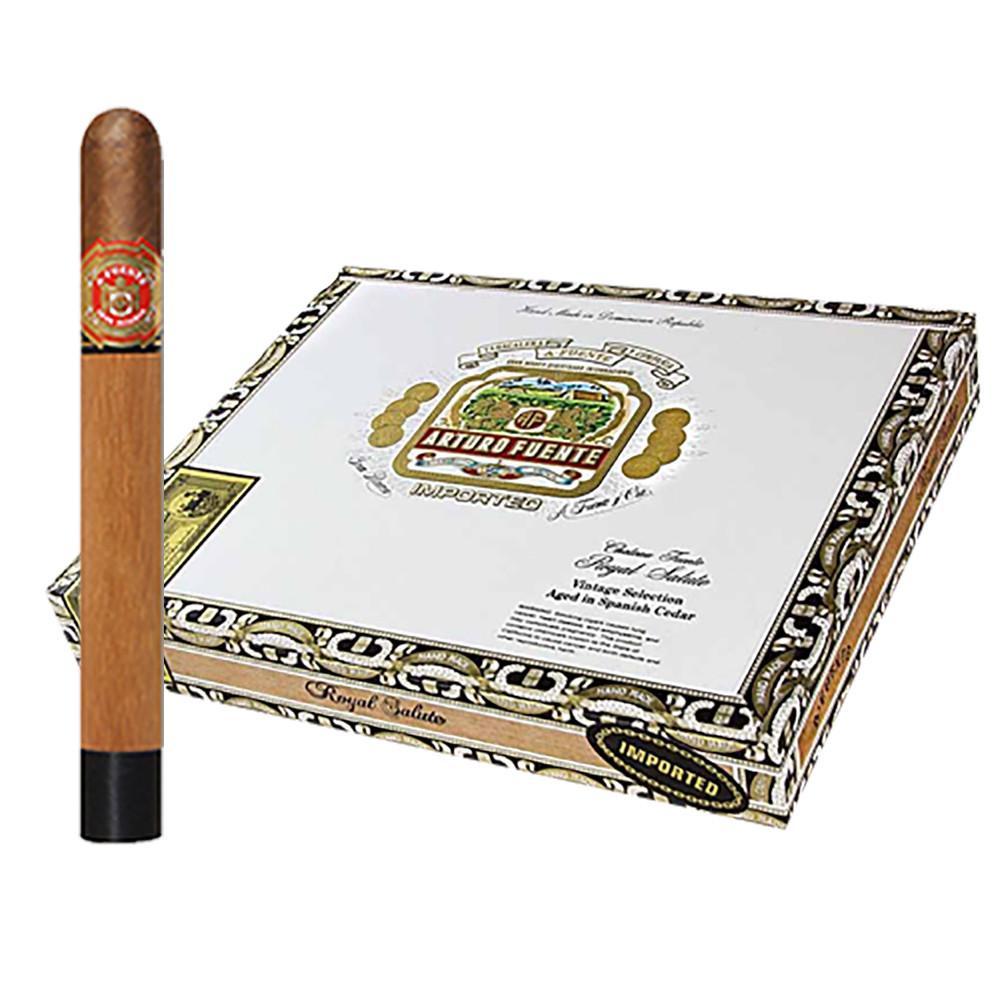 Arturo Fuente Royal Salute Cigars - Sungrown Box of 10