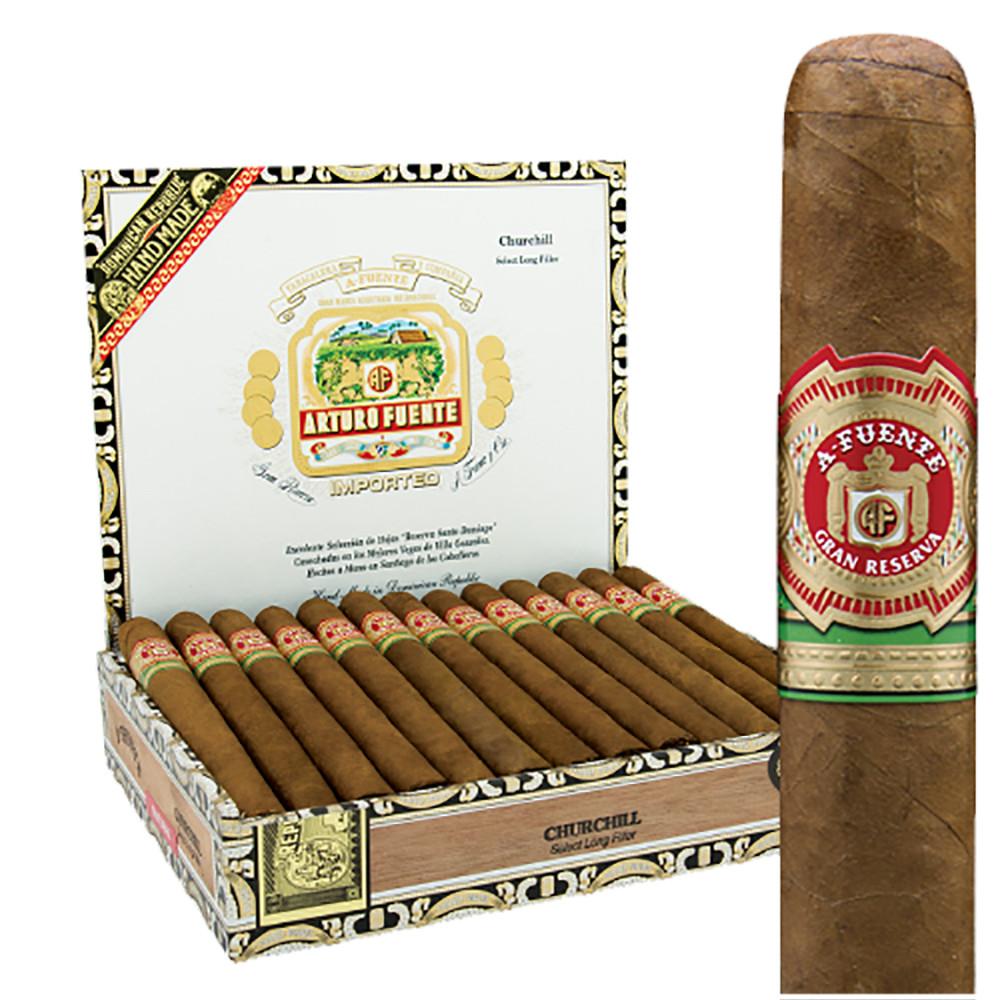 Arturo Fuente Churchill Cigars - Natural Box of 25