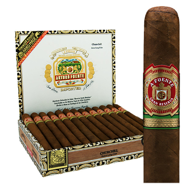 Arturo Fuente Churchill Cigars - Maduro Box of 25