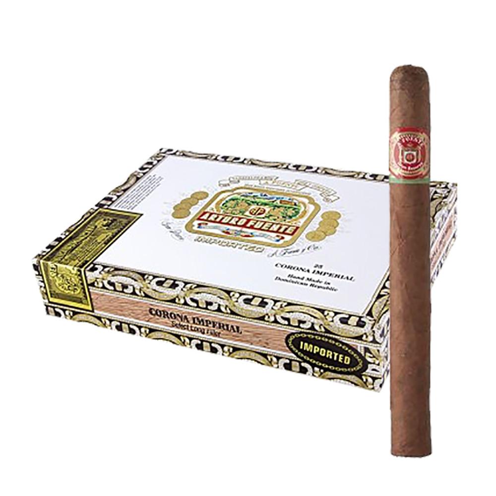 Arturo Fuente Corona Imperial Cigars - Natural Box of 25