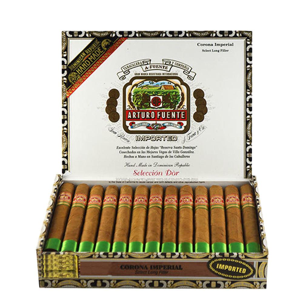 Arturo Fuente Corona Imperial Cigars - D'Oro Box of 25