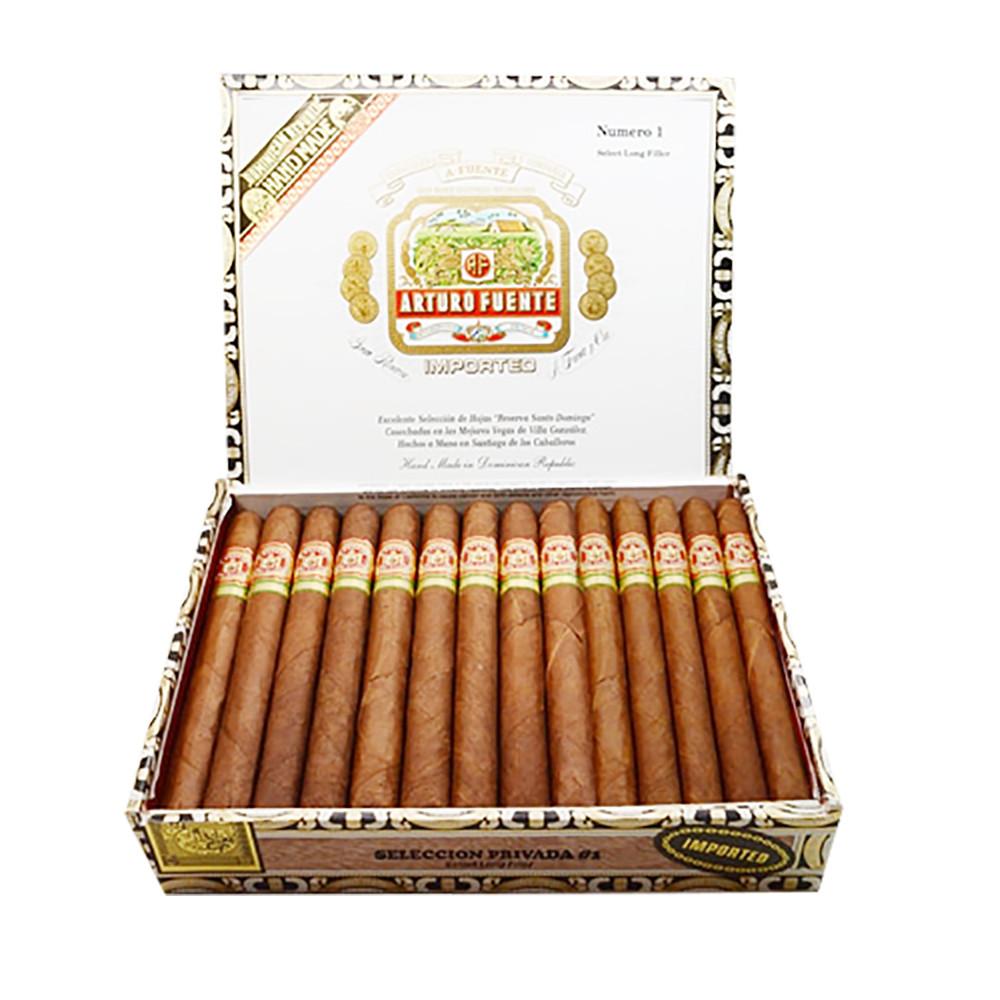 Arturo Fuente Seleccion Privada #1 Cigars - Claro Box of 25