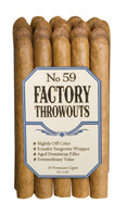 Factory Throwouts #59 Cigars - Natural Bundle of 20