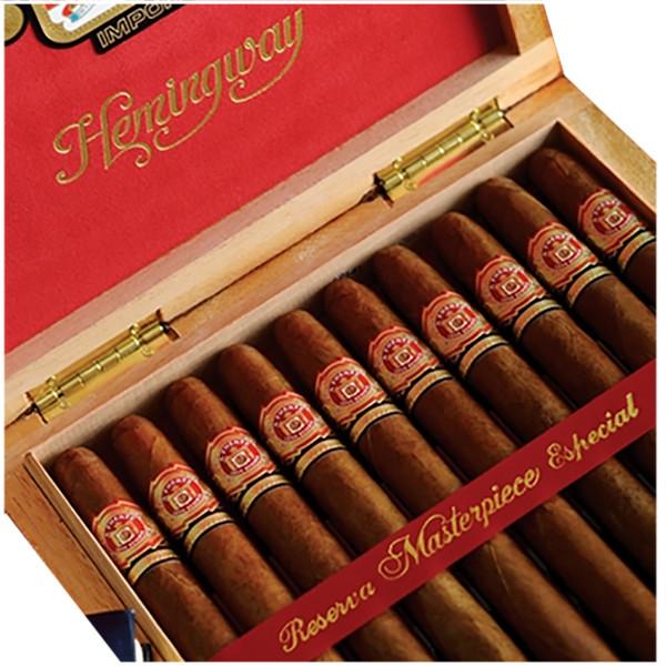 Arturo Fuente Hemingway Masterpiece Cigars - Maduro Box of 10