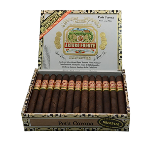 Arturo Fuente Petit Corona Cigars - Maduro Box of 25