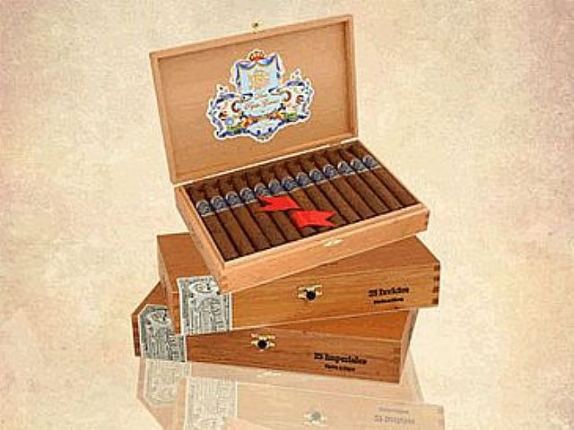 Shop Now Don Pepin Garcia Blue Invictos Cigars - Natural Box of 24 --> Singles at $8.38, 5 Packs at $35.95, Boxes at $162.99