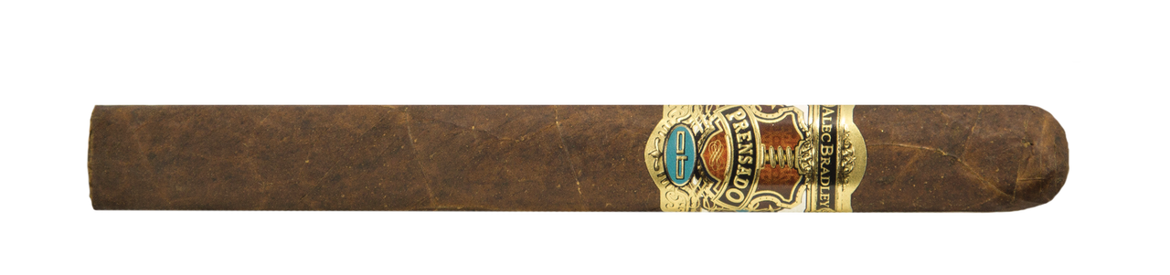 Shop Now Alec Bradley Prensado Churchill Cigars - Natural Box of 20 --> Singles at $10.65, 5 Packs at $45.26, Boxes at $174.99