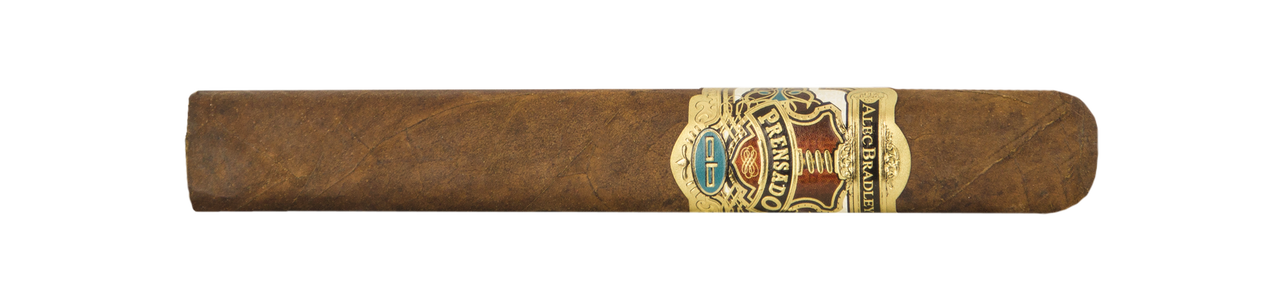 Shop Now Alec Bradley Prensado Grand Toro Cigars - Natural Box of 20 --> Singles at $12.20, 5 Packs at $51.85, Boxes at $199.99