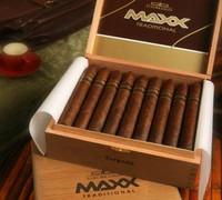 Shop Now Alec Bradley MAXX Churchill Cigars - Natural Box of 20 --> Singles at $139.00, 5 Packs at $36.50, Boxes at $139