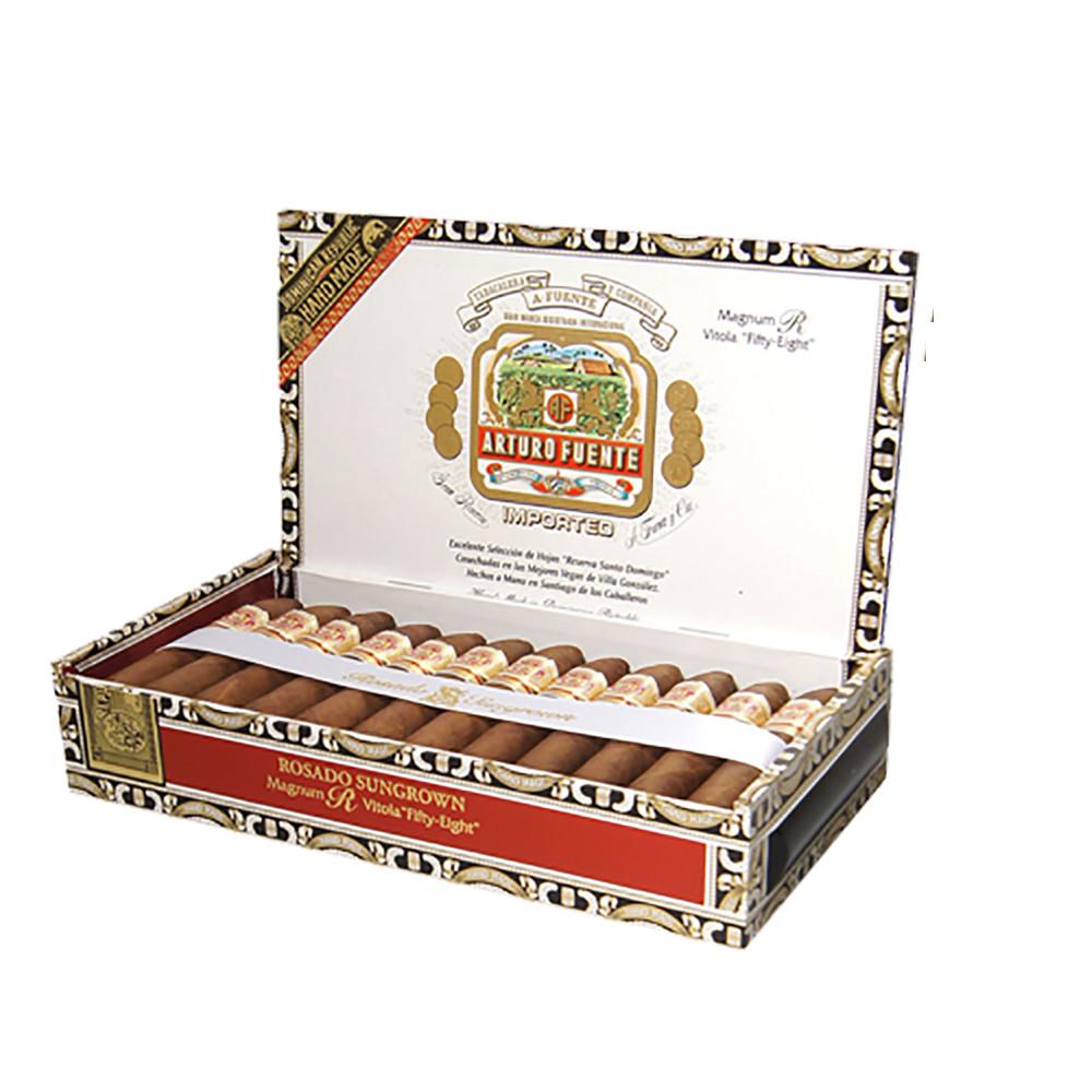 Arturo Fuente Rosado Sungrown Magnum R 56 Cigars - Natural Box of 25