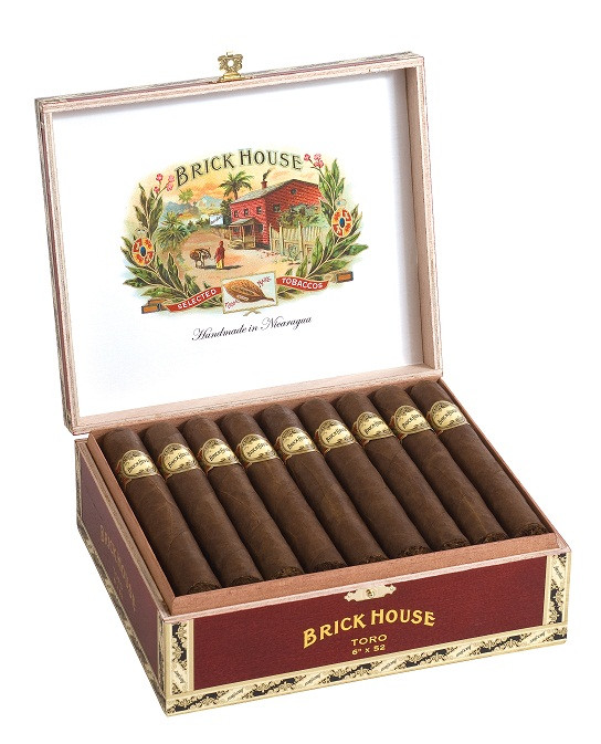 Shop Now Brick House Toro Cigars - Natural Box of 25 --> Singles at $25.00, 5 Packs at $5.25, Boxes at $125.36