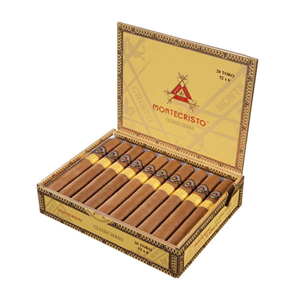 Montecristo Classic Robusto Cigars - Natural Box of 20