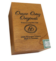 Shop Now Omar Ortez Originals Robusto Cigars - Natural Box of 20 --> Singles at $4.20, 5 Packs at $18.48, Boxes at $67.2