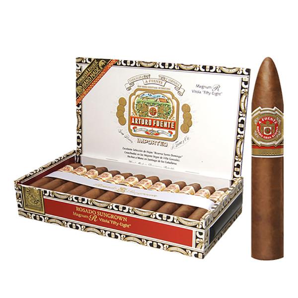 Arturo Fuente Rosado Sungrown Magnum R 58 Cigars - Natural Box of 25
