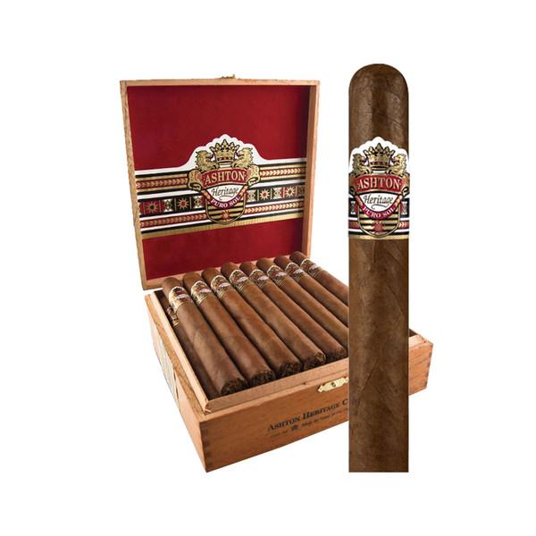Ashton Heritage Puro Sol Belicoso # 2 Cigars - Natural Box of 25