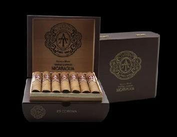 Shop Now A. Turrent Puro Corojo Robusto Cigars - Box of 21 --> Singles at $7.25, 5 Packs at $30.82, Boxes at $137.07