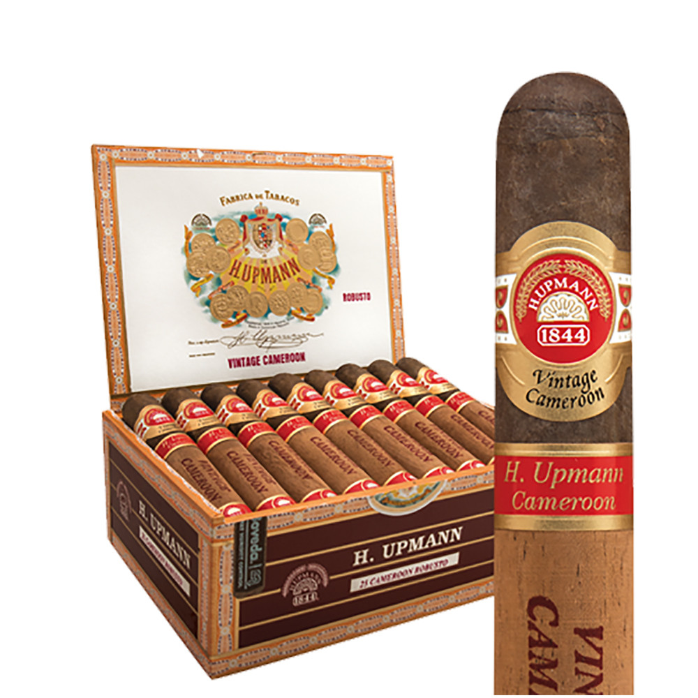H Upmann Vintage Cameroon Petite Corona Cigars - Natural Box of 25