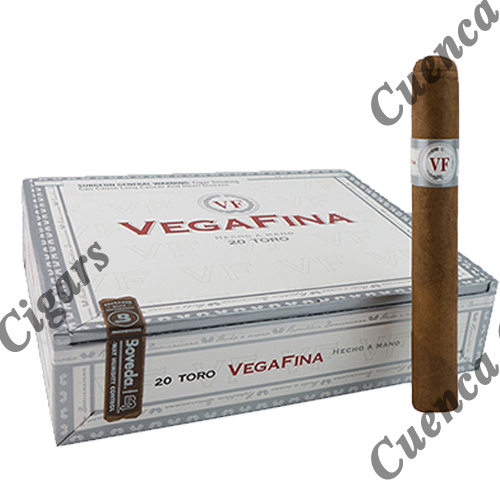 Vegafina Lonsdale Cigars - Natural Box of 20