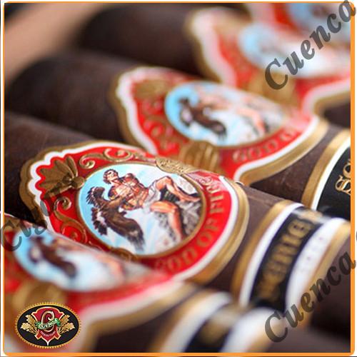 God of Fire Serie B Robusto Gordo 54 Cigars - Maduro Box of 10