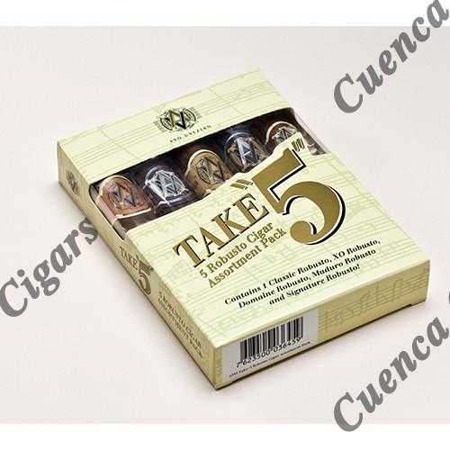 Avo Take 5 Five Robusto Cigars - Assortment