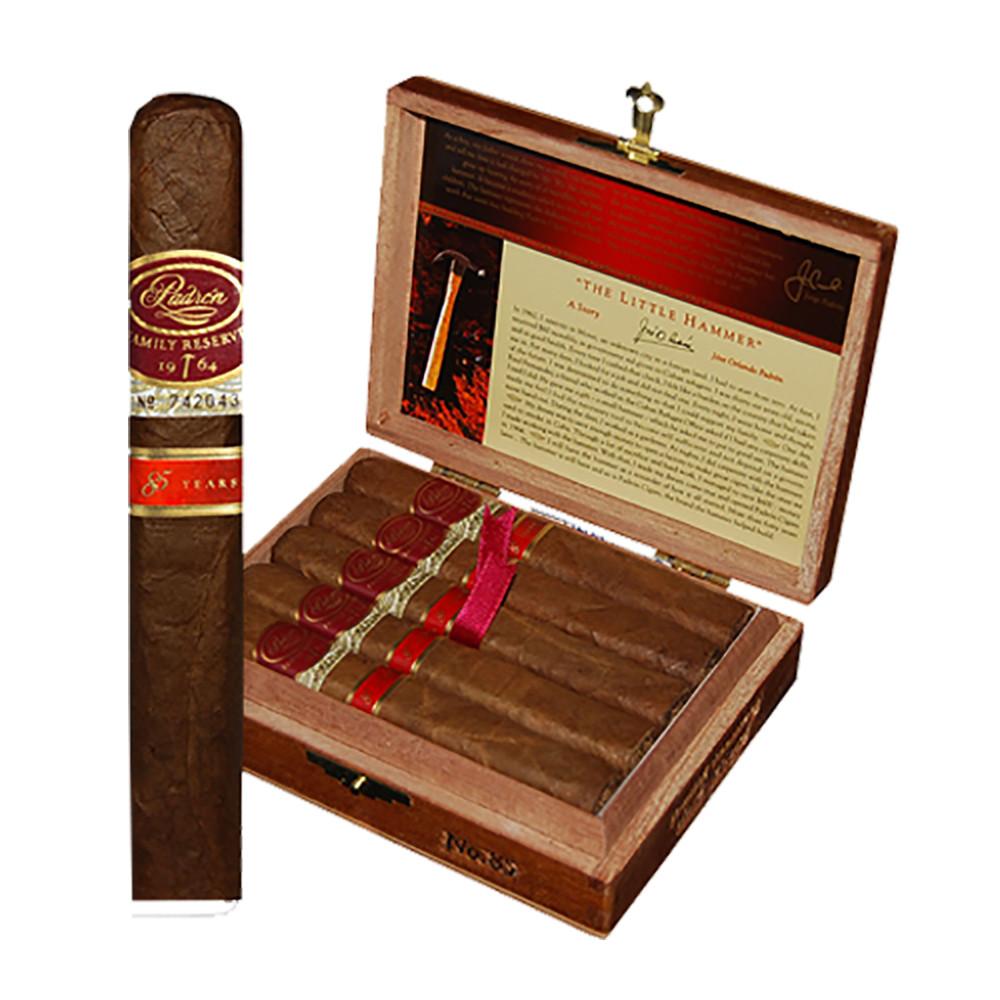 Padron Family Reserve No 85 Robusto Cigars - Natural Box of 10