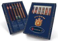 Punch Cigars Collection With Lighter - Sampler