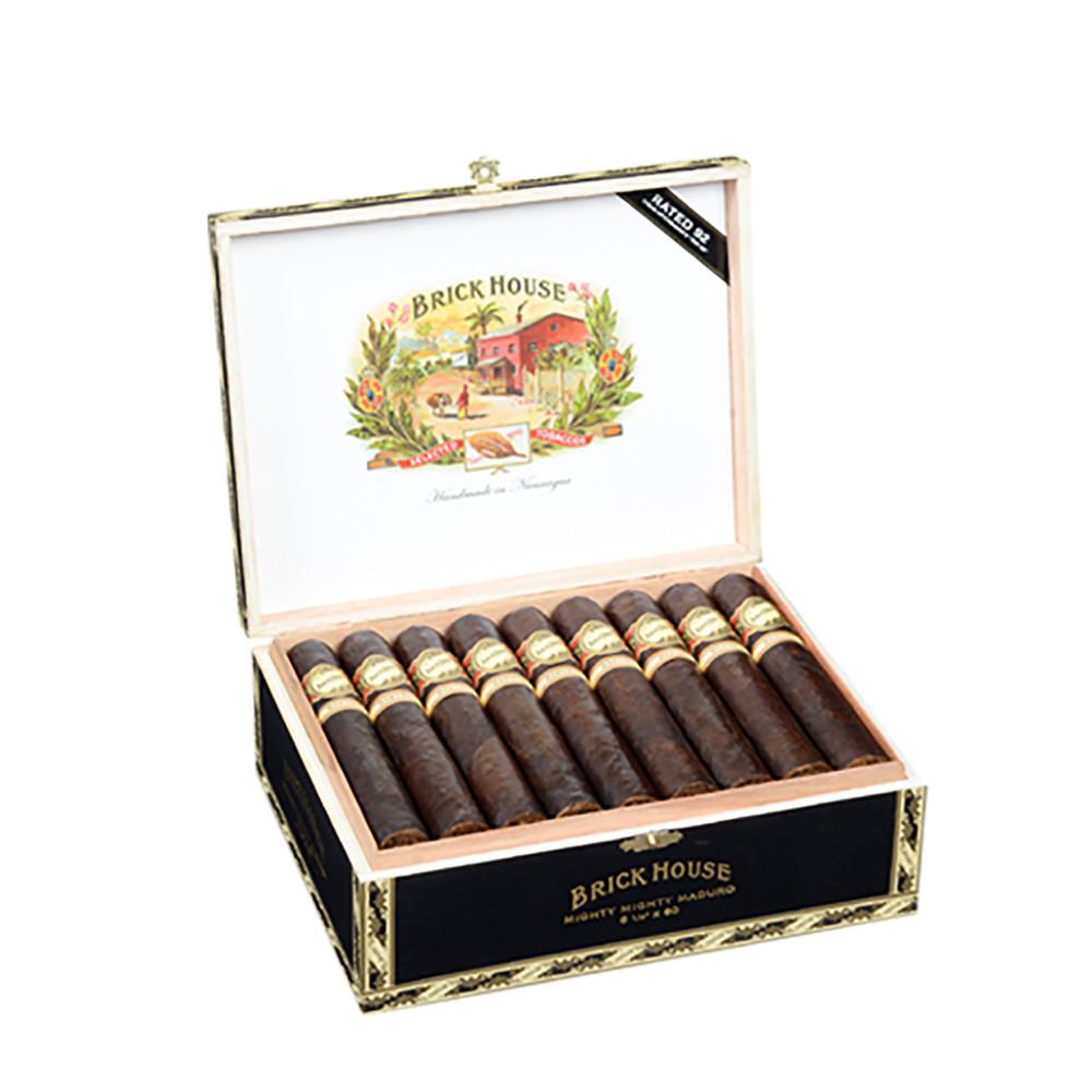Brick House Mighty Mighty Maduro Cigars - Maduro Box of 25