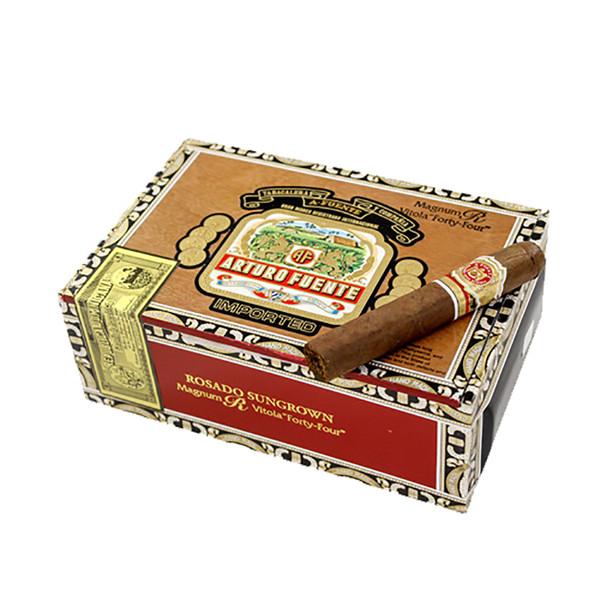 Arturo Fuente Rosado Sungrown Magnum R 44 Cigars - Natural Box of 44