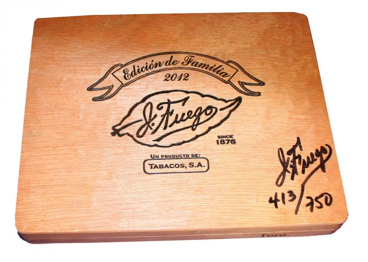 J Fuego Edicion de Familia Toro - Box of 10