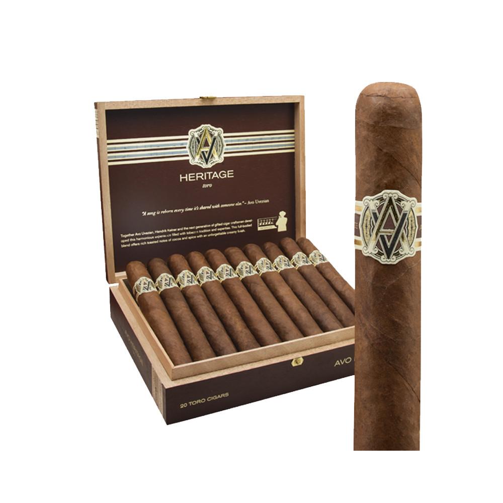 Avo Heritage Toro Cigars - Sun Grown Box of 20
