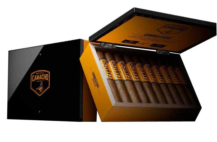 Camacho Connecticut Robusto Cigars - Box of 20