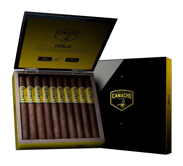Camacho Criollo Robusto Cigars - Box of 20