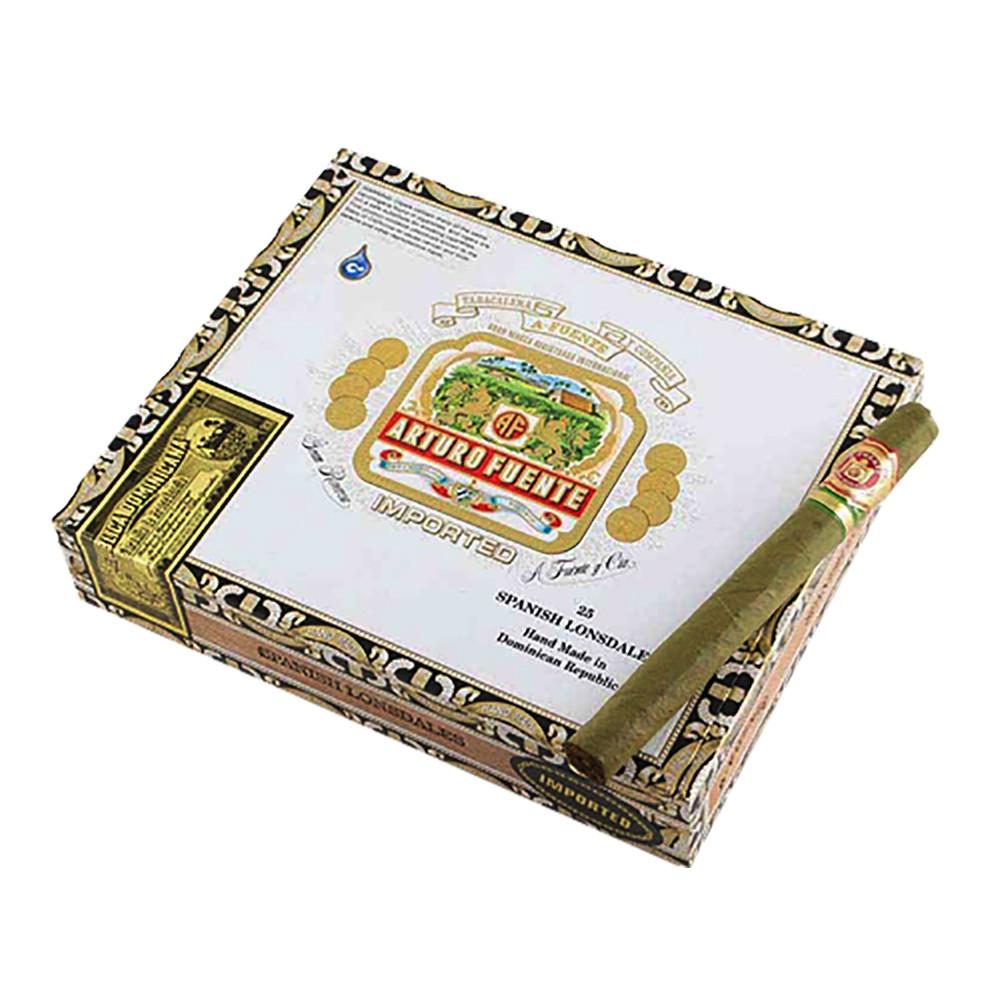 Arturo Fuente Spanish Lonsdale Cigars - Claro Box of 25