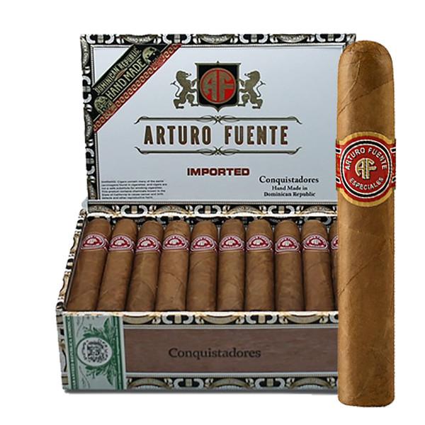 Arturo Fuente Conquistadores Cigars - Natural Box of 30