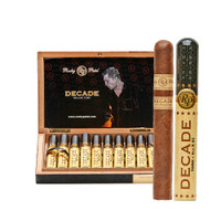 Rocky Patel Decade Aluminum Toro Tubo Cigars - Natural Box of 10