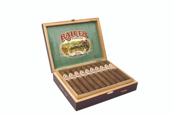 Alec Bradley Raices Cubanas Toro Cigars - Natural Box of 20