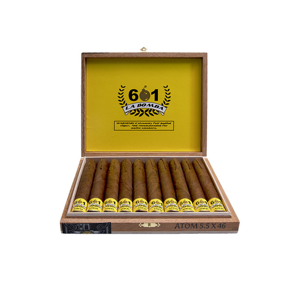 601 La Bomba Nuclear Cigars - Natural Box of 10