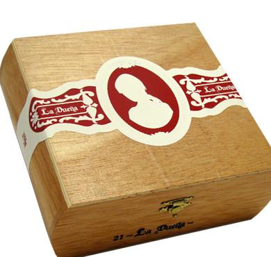 La Duena Petit Lancero No. 7 Cigars - Maduro Box of 21