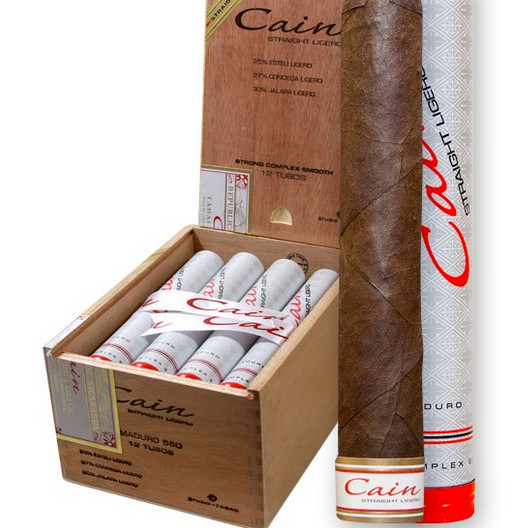 shop now singles, 5 packs or boxes $34.50 to $78.95 oliva cain maduro 550 tubo cigars at cuenca cigars online.