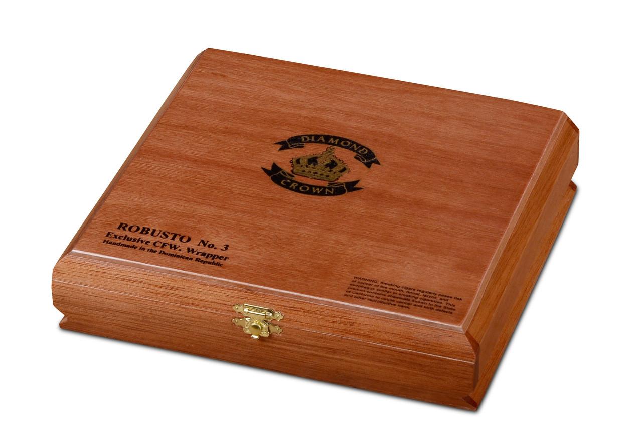 Diamond Crown Robusto #3 Cigars - Maduro Box of 15