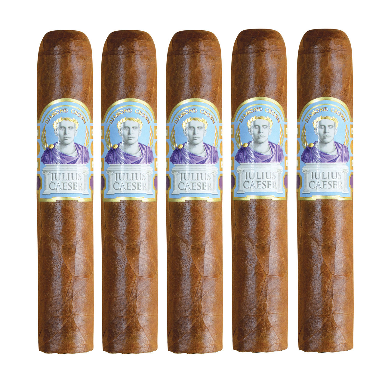 Diamond Crown Julius Caesar Robusto Cigars - Natural Box of 20