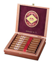 Diamond Crown Robusto No 3 Cigars - Natural Box of 15