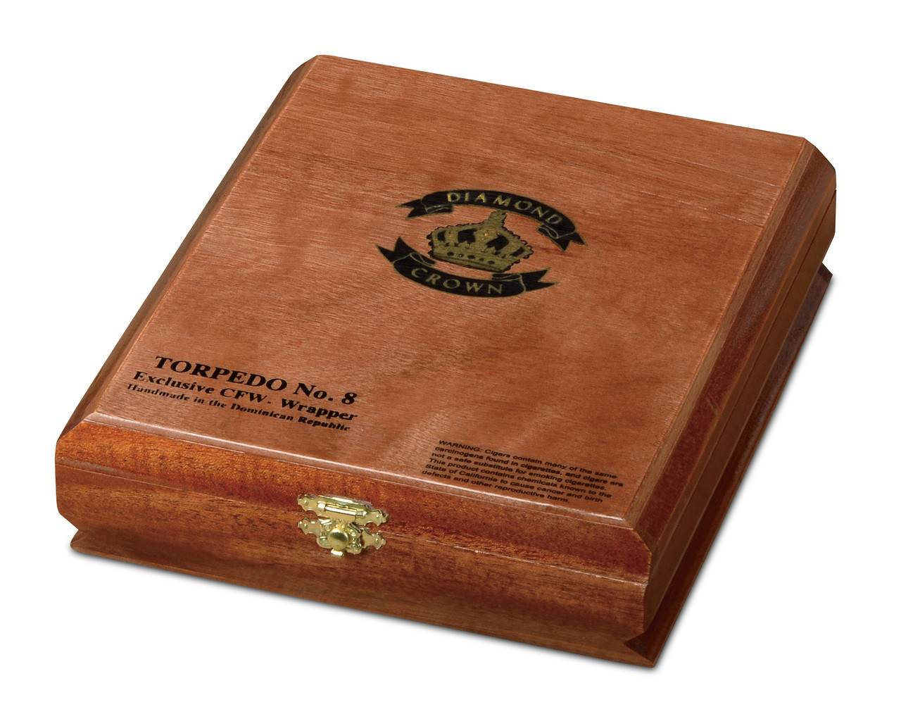 Diamond Crown Torpedo #8 Cigars - Natural Box of 15