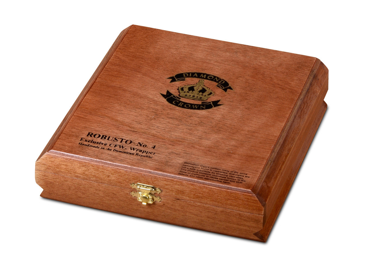 Diamond Crown Robusto #4 Cigars - Maduro Box of 15