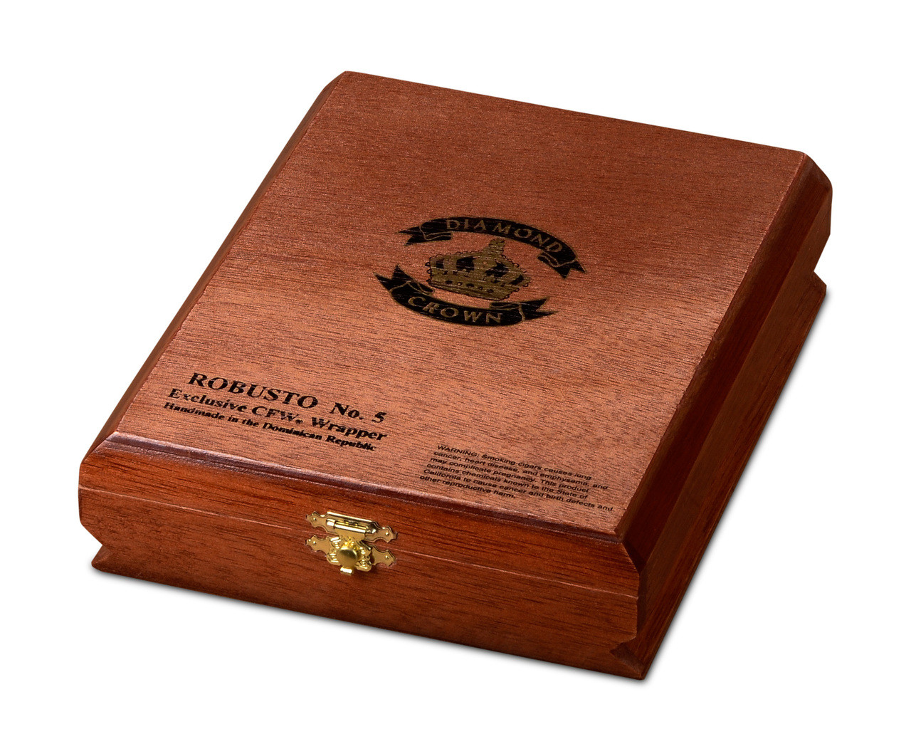 Diamond Crown Robusto #5 Cigars - Maduro Box of 15