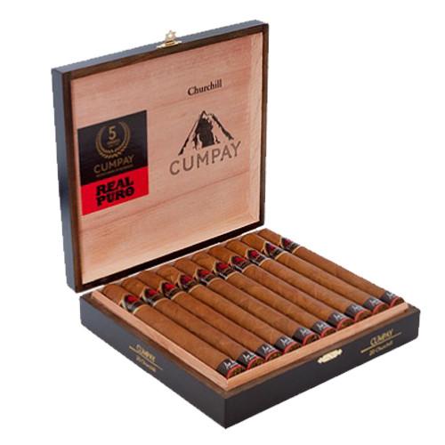 Maya Selva Cumpay Churchill Cigars - Natural Box of 20