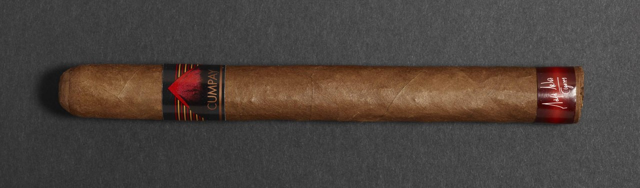Maya Selva Cumpay Churchill Tubo Cigars - Natural Box of 16