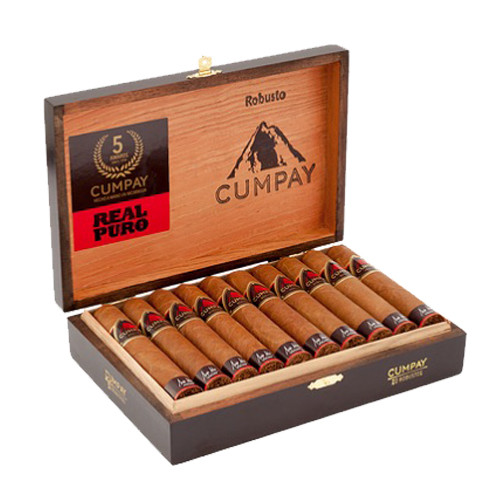 Maya Selva Cumpay Robusto Cigars - Natural Box of 20