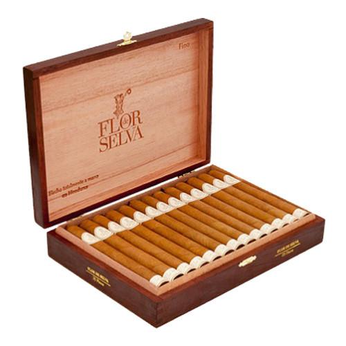 Maya Selva Flor de Selva Fino Cigars - Natural Box of 20